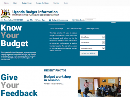 www.budget.go.ug - National Budget displays budget information for national government agencies. It shows the outputs that each national government agency is planning to deliver, and the actual performance against those outputs. Importantly, you can also give feedback on how these outputs and services are being delivered and how funds are being spent, by commenting on each individual output.